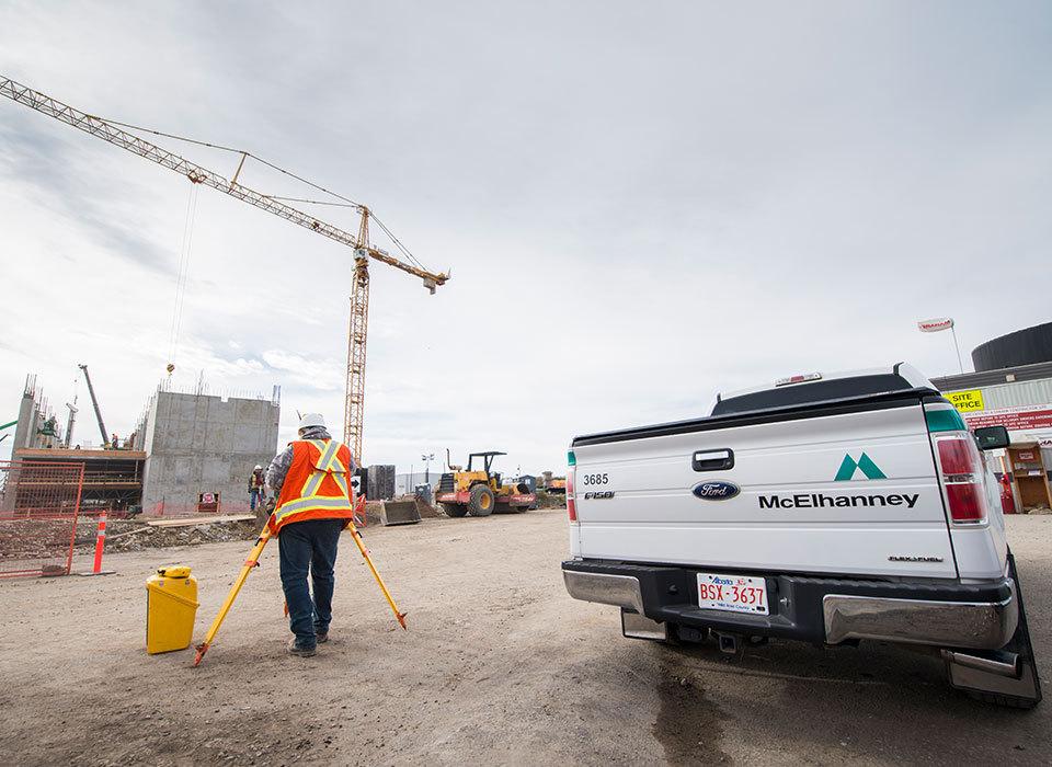 Calgary surveying