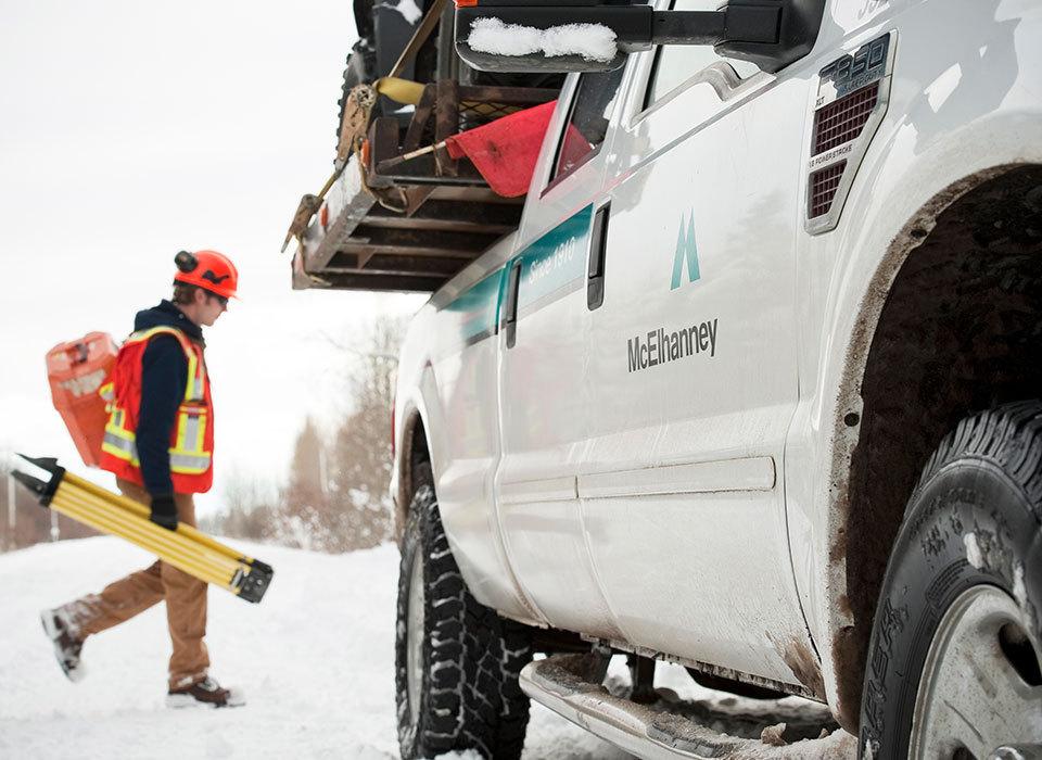 Edmonton mcelhanney truck