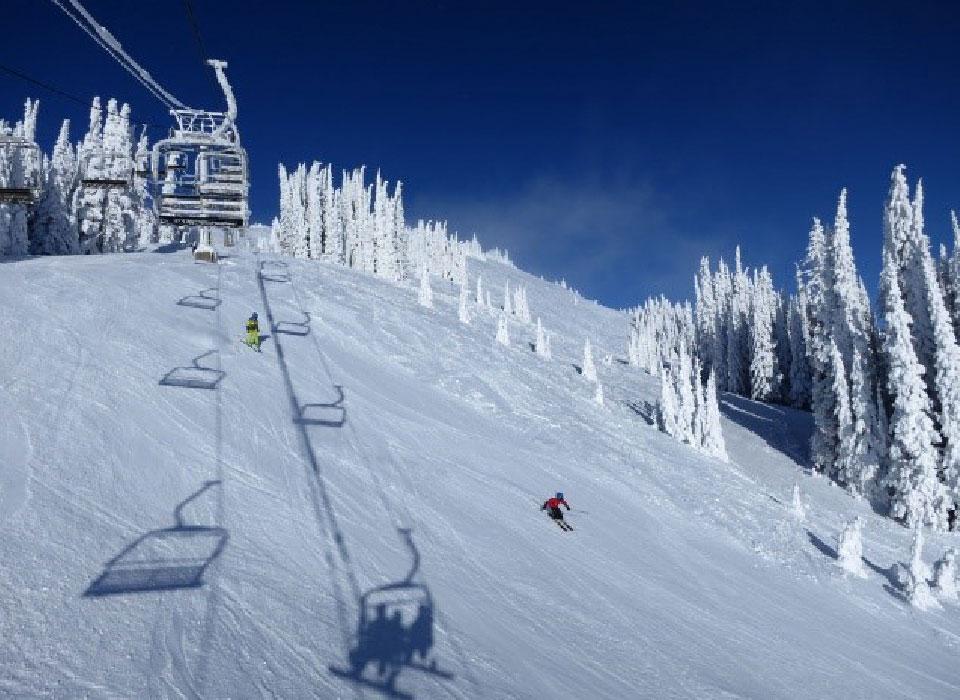 Kamloops BC skiing