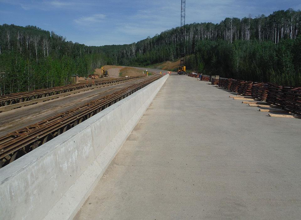 Fort Nelson River Bridge