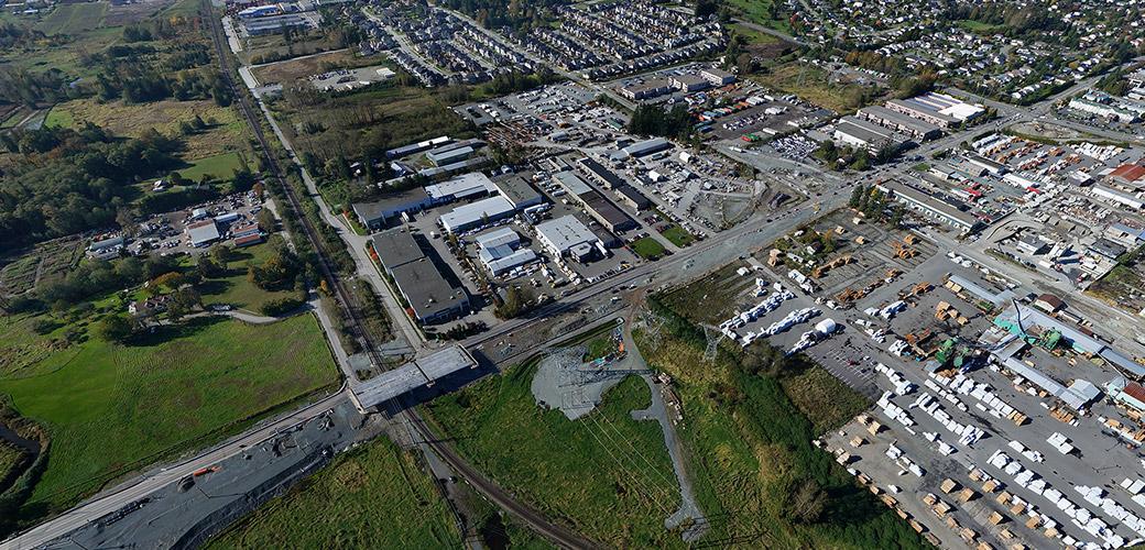 Roberts Bank Rail Corridor – Surrey Combo Overpass Project