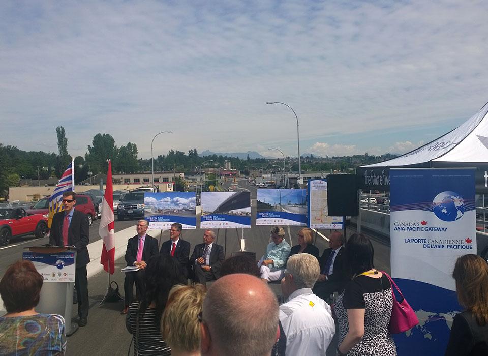 Roberts Bank Rail Corridor Opening