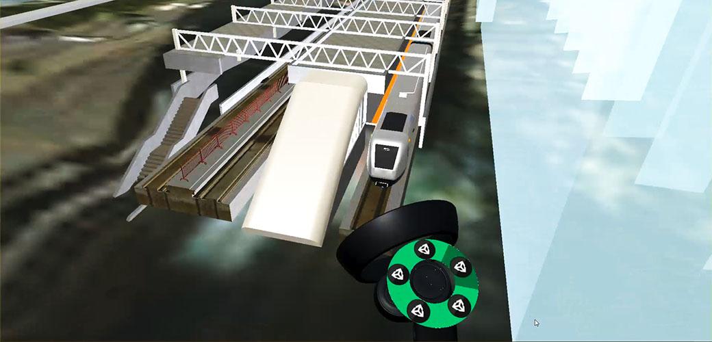 Skytrain Virtual Reality