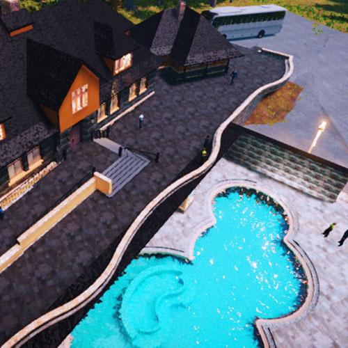 McElhanney prepared a virtual reality walkthrough of the Banff Springs Hotel