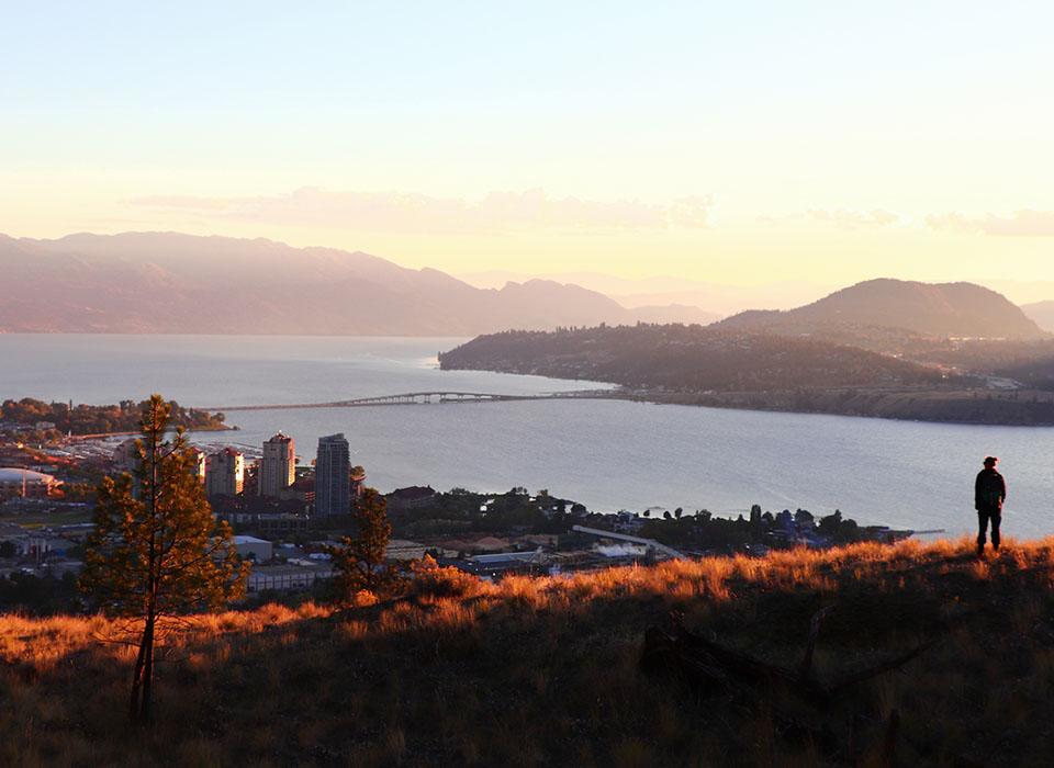 View of Kelowna, BC