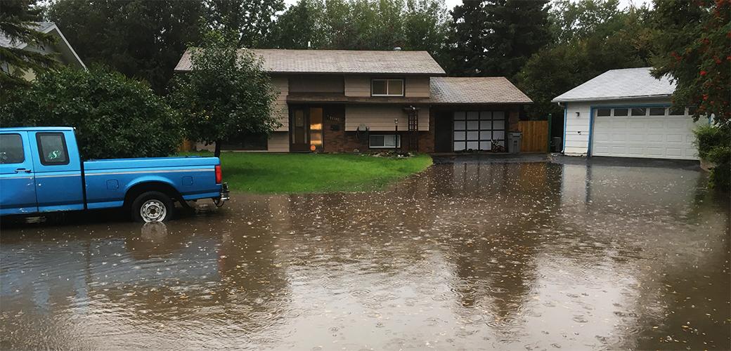 Flooding in Mountview neighbourhood