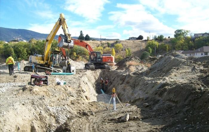 Meadows Drive Construction