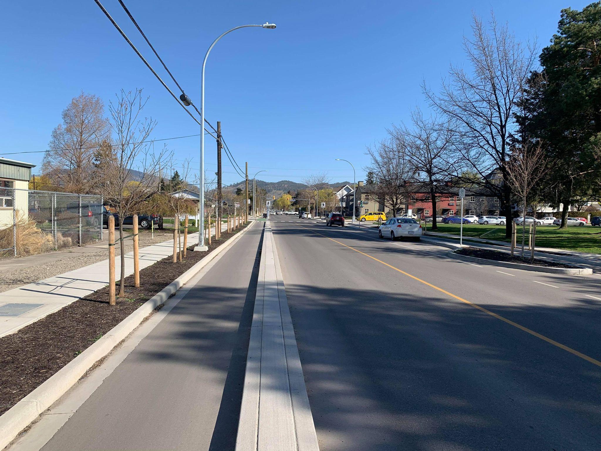 Ethel Street Separated Bike Lane
