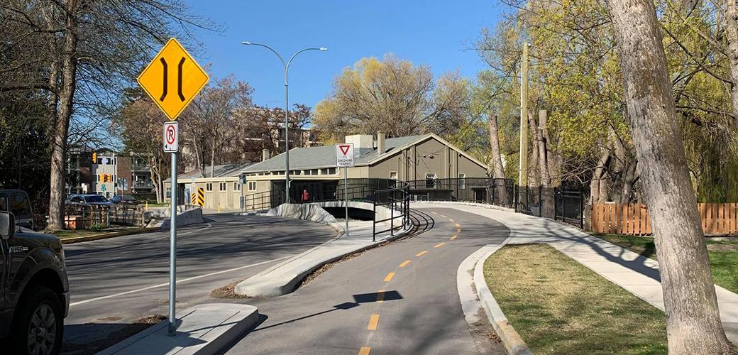 Sutherland Separated Bike Lane
