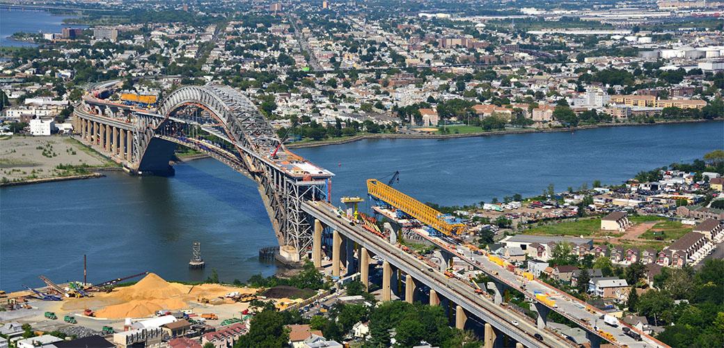 Bayonne Bridge from McElhanney Award