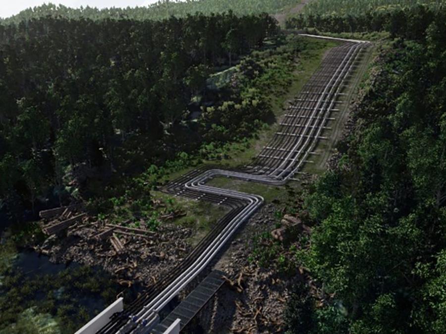 ARC Pipeline Rendering