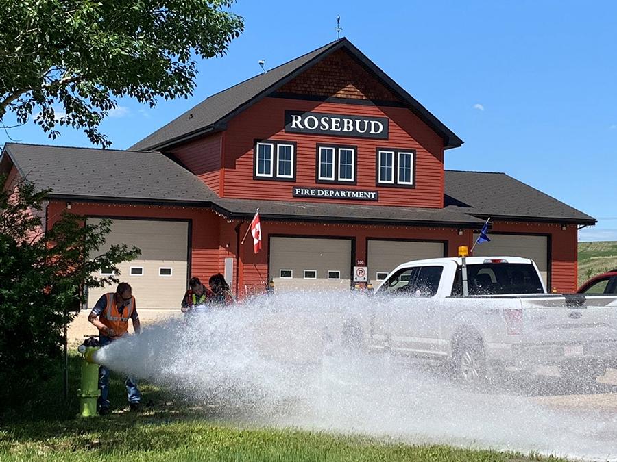Rosebud building