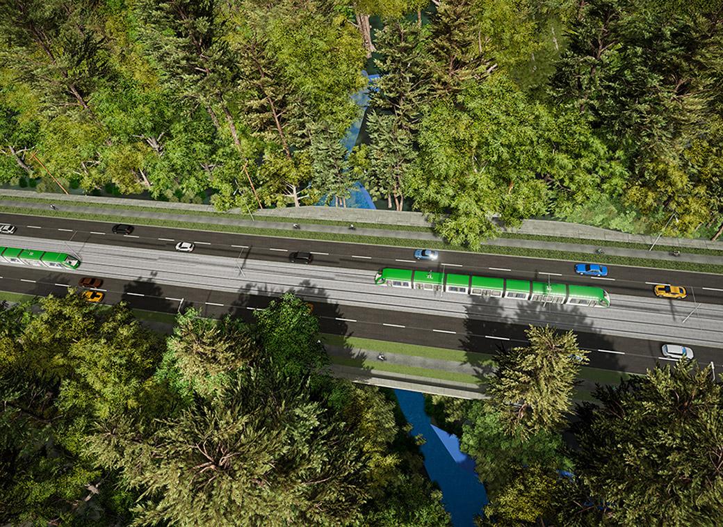 Bear Creek Bridge Upgrades Rendering