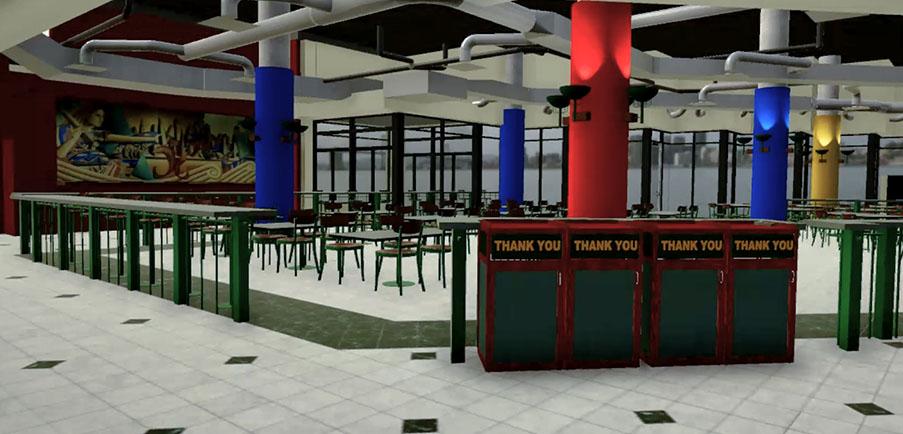 Waterfrton Centre Virtual Reality Walkthrough